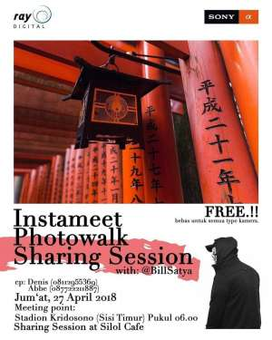 Instameet Photowalk Sharing Session