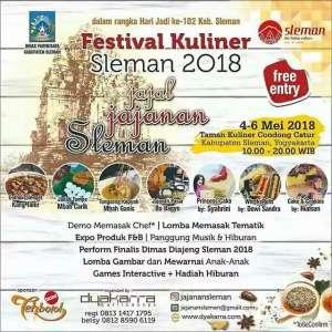 Festival Kuliner Sleman 2018