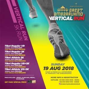Vertical Run Great Ambarrukmo