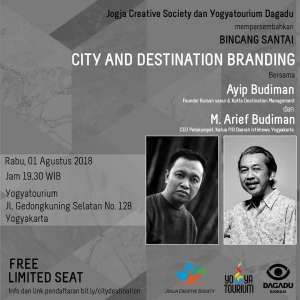 "Bincang Santai ""City and Destination Branding"""