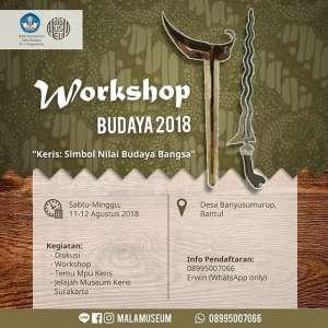 Workshop Budaya