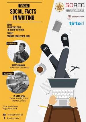 Diskusi: Sosial Fact in Writing