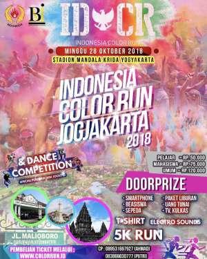 Indonesia Color Run Jogjakarta 2018