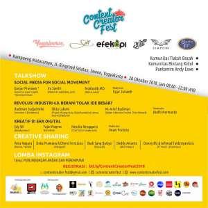 Konten Kreator Festival 2018