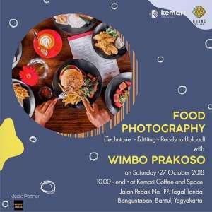 Food Photography bersama Wimbo Prakoso