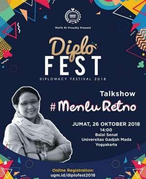 Diplofest 2018 bersama #MenluRetno