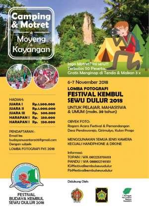 Lomba Fotografi Festival Kembul Sewu Sedulur 2018
