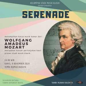 SERENADE : Pertunjukan Karya Musik Kamar dari W. A. MOZART
