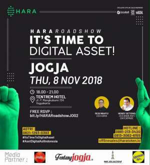"HARA Roadshow Part 2 ""It's Time to Digital Asset"""