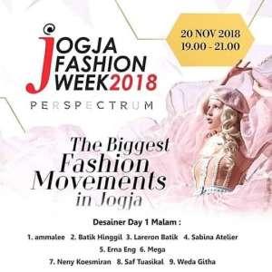 Jogja Fashion Week 2018 Perspectrum