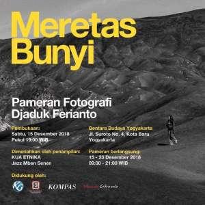 Pameran Fotografi Djaduk Ferianto Meretas Bunyi
