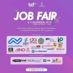 Job Fair UII Integrated Career 2018