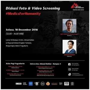 Diskusi Foto dan Video Screening 2018