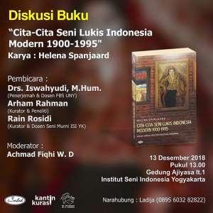 Diskusi Buku : Cita-Cita Seni Lukis Indonesia Modern 1900-1995
