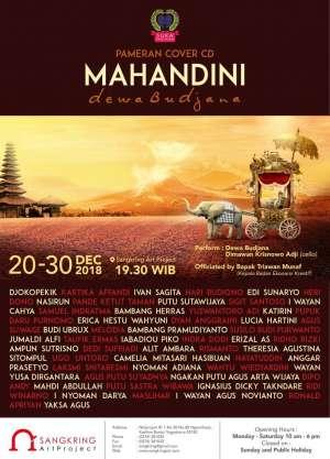 Pameran Cover CD Mahandini Dewa Budjana