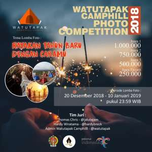 Watu Tapak Camphill Photo Competition 2018