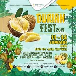 Durian Fest JCM 2019