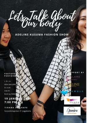 Fashion Show 'Let's Talk About Our Body'