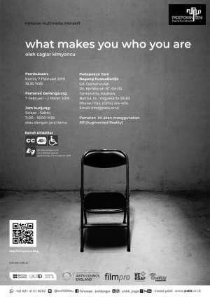 "Pameran Multimedia Interaktif  ""What Makes You Who You Are"""