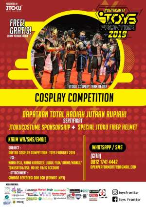 Single Cospay Competition - TOYS FRONTIER 2019