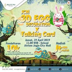 Lomba Menghias Telur 3D Jogja City Mall