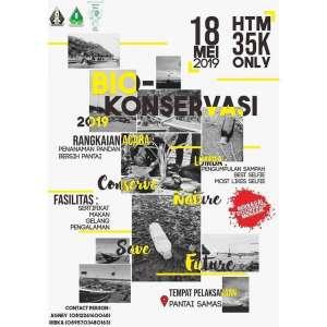 "Biokonservasi ""Conserve Nature, Save Future"""