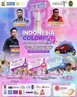 INDONESIA COLOR RUN YOGYAKARTA 2019