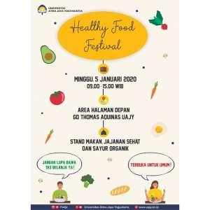 Healthy Food Festival Universitas Atma Jaya Yogyakarta