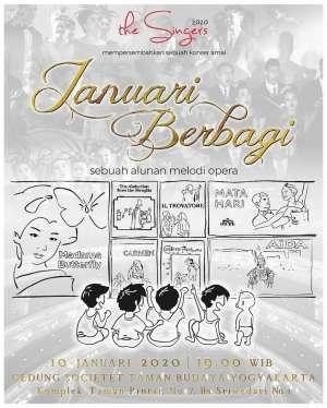Konser amal Januari Berbagi