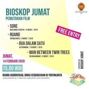 Bioskop Jumat Dinas Kebudayaan DIY