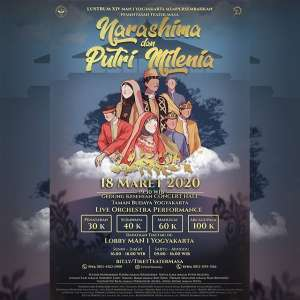 "Pertunjukan Teater ""Narashima & Putri Milenia"""
