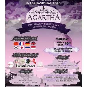 "Festival Budaya Internasional 2020 ""Agartha"""