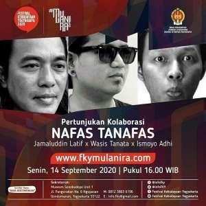 """Pra Event FKY 2020 Pertunjukkan Kolaborasi """"NAFAS TANAFAS"""""""