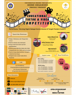 EDUCATIONAL TIKTOK  & VIDEO COMPETITION