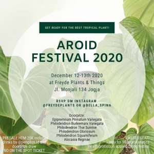 Aroid Festival 2020