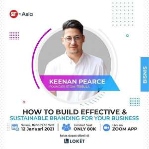 "How to Build Effective & Sustainable Branding for Your Business"" with Keenan Pearce"