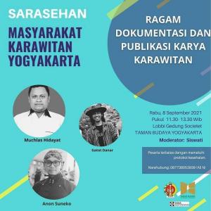 Sarasehanan Masyarakat Karawitan Yogyakarta
