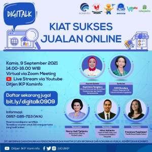 Digitalk: Kiat Sukses Jualan Online