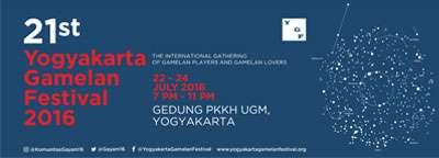 Yogyakarta Gamelan Festival 2016