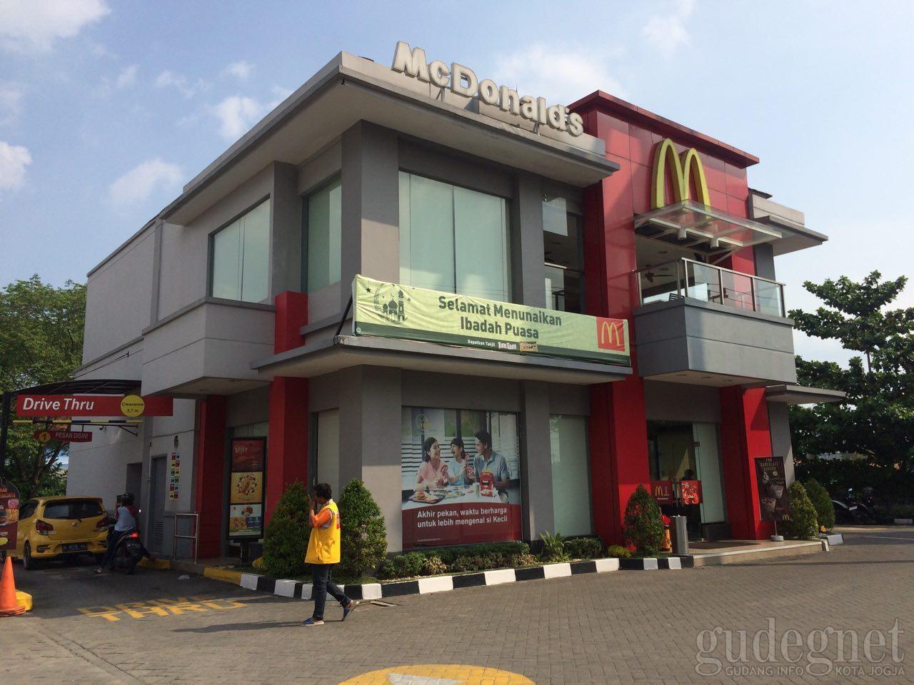 McDonald's Sudirman Drive Thru DI Yogyakarta