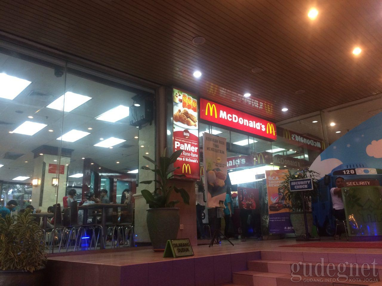 Mc Donalds - Malioboro Mall