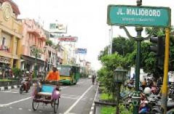 Kawasan Malioboro Yogyakarta