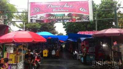 Pasar Sore Malioboro  Yogyakarta