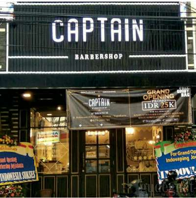 Captain Barbershop Jogja