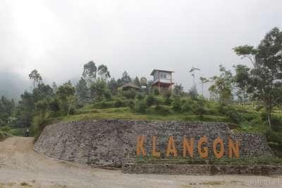 Bukit klangon Merapi Yogyakarta