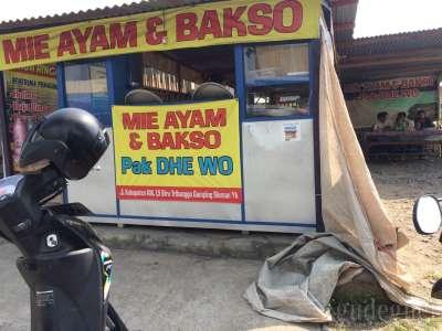 Mie Ayam & Bakso Pak Dhe Wo