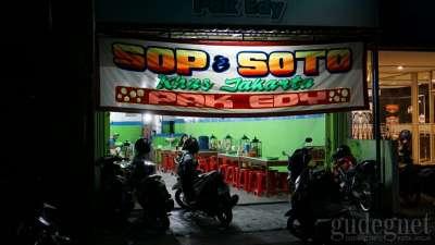 Sop Dan Soto Pak Edy