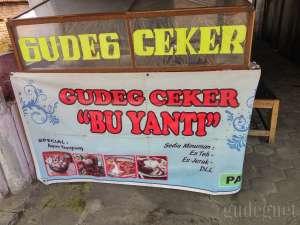 Gudeg Ceker Bu Yanti Yogyakarta