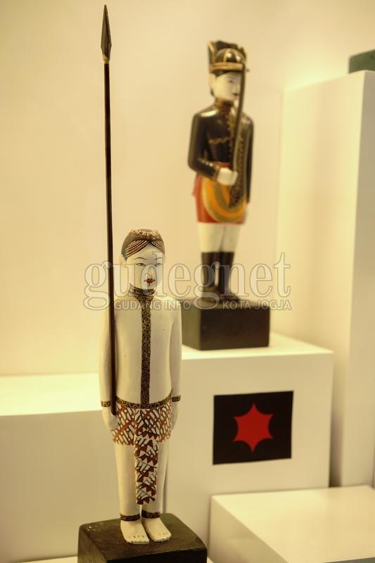 Miniatur Bregada Surakarsa di Museum Sonobudoyo (Trida,2020)