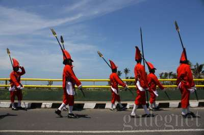 Pasukan Lombok Abang Keraton Yogyakarta